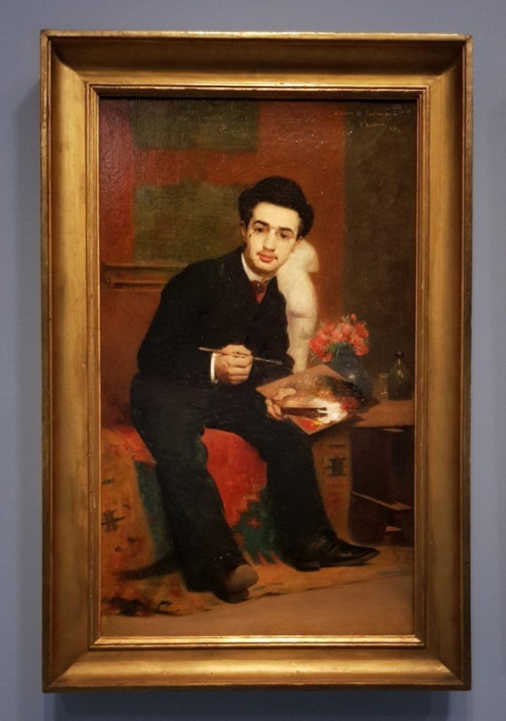Portrait de Toulouse Lautrec